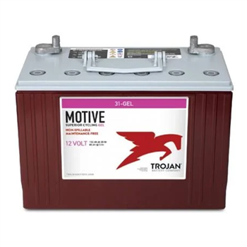 Trojan 31-GEL > 12V, 108Ah, Deep-Cycle Gel Cell Battery