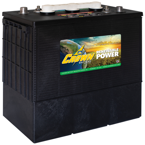 Crown Battery 6CRP430 430Ah 6V Low Maintenance Flooded Lead Acid Battery