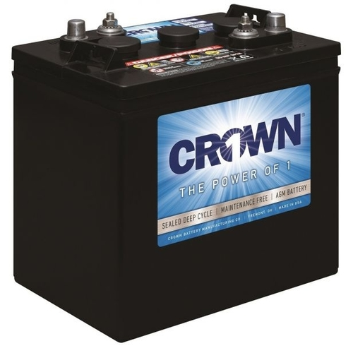 Crown 6CRV220 200Ah 6V AGM Battery