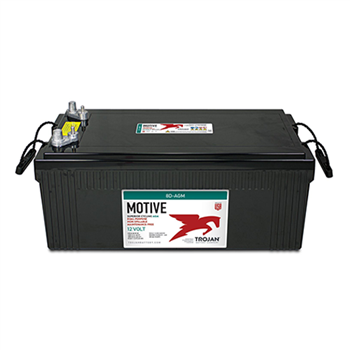 Trojan Motive 8D-AGM 230Ah 12VDC Group 8D Dual Purpose AGM Battery
