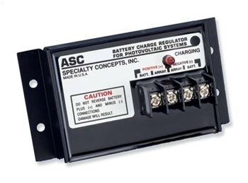 Specialty Concepts ASC-12/12-A > 12V, 12Amp Charge Controller w/ A - Temperature Compensation