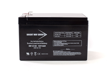 Bright Way Group BW 12140 F2 14Ah 12V (@10hr) AGM Sealed Lead Acid Battery