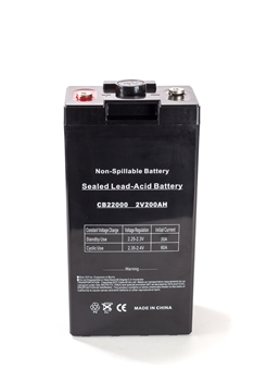 Bright Way Group BW 23000 300Ah 2V (@10hr) AGM Sealed Lead Acid Battery