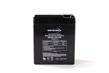 Bright Way Group BW 685 8.5Ah 6V AGM Sealed Lead Acid Battery
