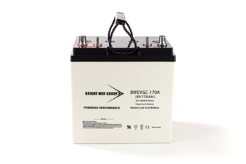 Bright Way Group BW EVGC8-170A 170Ah 8V (@10hr) AGM Sealed Lead Acid Battery
