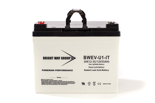 Bright Way Group BW EVU1 IT (Group U1) 35Ah 12V (@10hr) AGM Sealed Lead Acid Battery