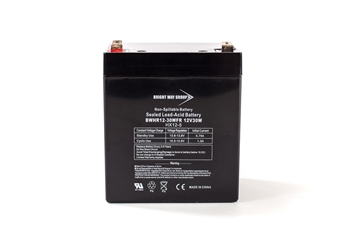Bright Way Group BW HR 12-60W FR 12Ah 12V (@10hr) AGM Sealed Lead Acid Battery