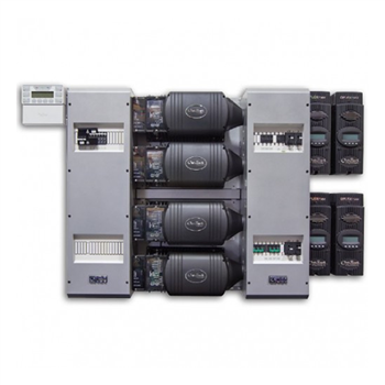 Outback FP4 VFXR3048A-01> 12kW 48VDC 120/208VAC Fully Pre-Wired Quad Inverter System (UL Listed)