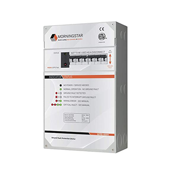 Morningstar GFPD-600V Ground Fault Protection Device for 600VDC Charge Controller