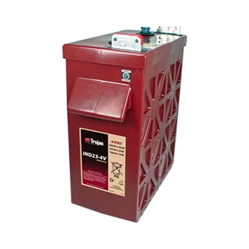 Trojan IND23-4V > 4V, 1654Ah, Industrial Line Deep-Cycle Flooded Battery /w Smart Carbon