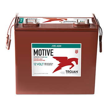 Trojan Motive J185-AGM 200Ah 12VDC Group 921 Deep-Cycle AGM Battery