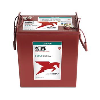 Trojan Motive J305-AGM 310Ah 6VDC Group 902 Deep-Cycle AGM Battery