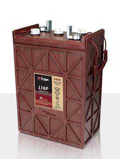 Trojan L16P > 6V, 467Ah, Signature Line Deep-Cycle Flooded Battery