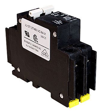 Midnite Solar Two Pole Breaker MNEAC60-2P > 60Amp, 120/240VAC, DIN Rail Mount