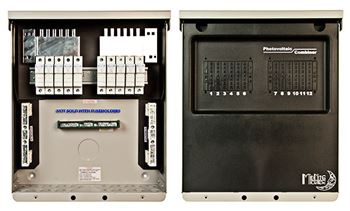Midnite Solar MNPV10-1000 > Combiner Box Enclosure, Accepts 10 - 1000VDC Fuse Holders