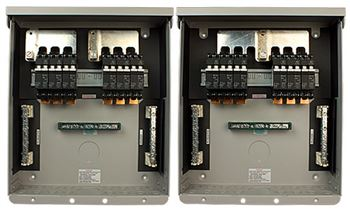 Midnite Solar MNPV12-250 > Combiner Box Enclosure, Accepts 6 - 300VDC Fuse Holders
