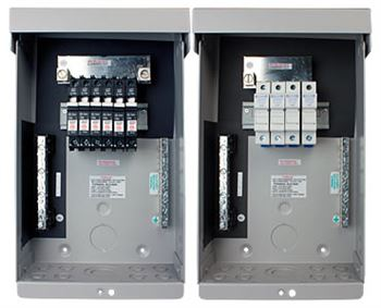 Midnite Solar MNPV6 > PV Combiner Box Enclosure, Accepts 6 - 150VDC Breakers