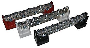 Midnite Solar Busbar MNTBB-R > Busbar with Red Insulators
