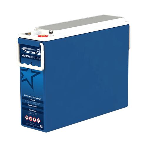 Outback NorthStar Blue+ NSB100FT BLUE+ 100Ah 12V VRLA-AGM Pure Lead Carbon Battery