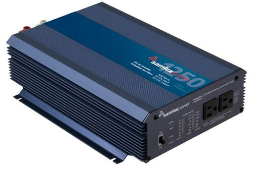 Samlex PSE-24125A> 1250 Watt Modified Sine Wave Inverter 12VDC 120VAC