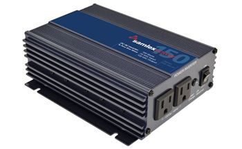 Samlex PST-150-24> 150 Watts 24VDC 120VAC Pure Sine Wave Inverter