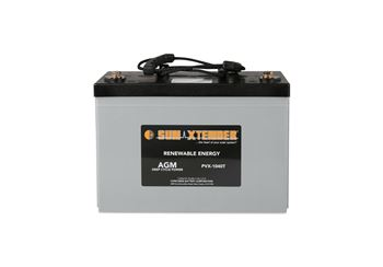 Concorde SunXtender PVX-1040T > 12V, 104Ah, Deep Cycle AGM Battery, Grp 27 (2 Rope Handles)