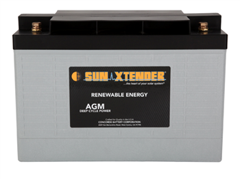 Concorde SunXtender PVX-1180T > 12V, 118Ah, Deep Cycle AGM Battery, Grp 31