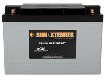 Concorde SunXtender PVX-1290T > 12V, 129Ah, Deep Cycle AGM Battery, Grp 31