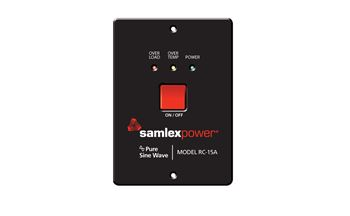 Samlex RC-15A> Remote Control for PST-600 & PST-1000 Inverters