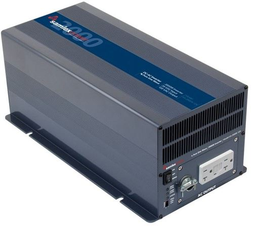 Samlex SA-2000K-124 > 2000 Watt 24VDC Pure Sine Wave Inverter