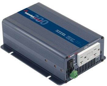 Samlex SA-300-112 > 300 Watt 12VDC Pure Sine Wave Inverter
