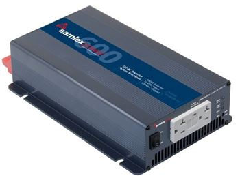 Samlex SA-600R-112 > 600 Watt 12VDC Pure Sine Wave Inverter
