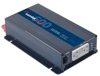 Samlex SA-600R-124 > 600 Watt 24VDC Pure Sine Wave Inverter