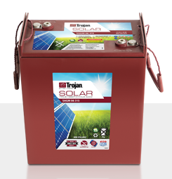 Trojan SAGM 06 315 > 6V, 335Ah, Solar Deep-Cycle AGM Battery