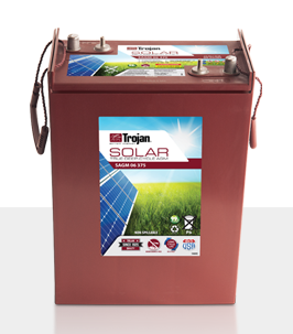 Trojan SAGM 06 375 > 6V, 394Ah, Solar Deep-Cycle AGM Battery