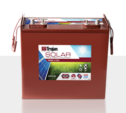 Trojan SAGM 12 205 > 12V, 213Ah, Solar Deep-Cycle AGM Battery