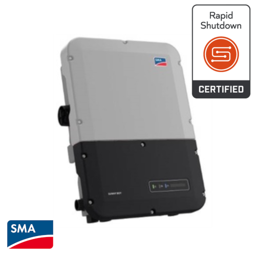 SMA SB-7.0-1SP-US-41  7kW w/ Integrated DC Disconnect, LCD, Grey Lid, AFCI, 208 & 240VAC; SunSpec Compliant