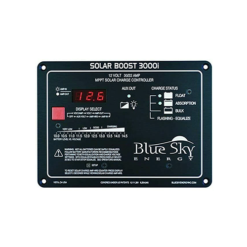 Blue Sky SB3000i Solar Boost 30A 12VDC MPPT Charge Controller