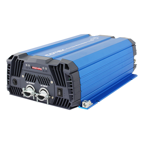 COTEK SC1200-212 1200Watt 12VDC 220VAC Pure Sine Wave Inverter/Charger