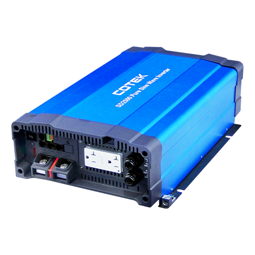 COTEK SD2500-124-HARDWIRE-UL 2500Watt 24VDC 115VAC UL Approved Pure Sine Wave Inverter