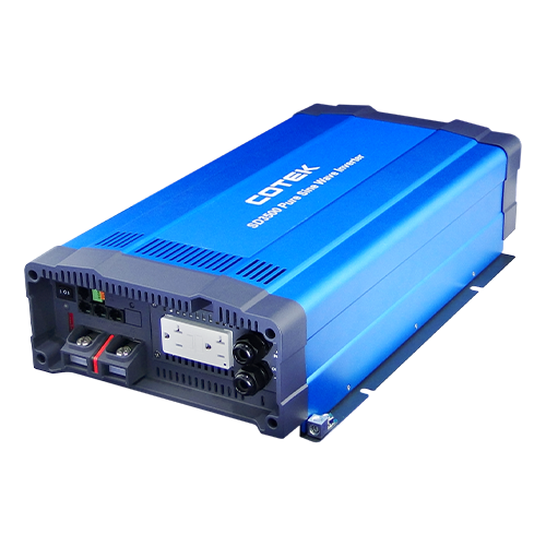 COTEK SD3500-224 3500Watt 24VDC 220VAC Pure Sine Wave Inverter w/ Schuko Socket Type