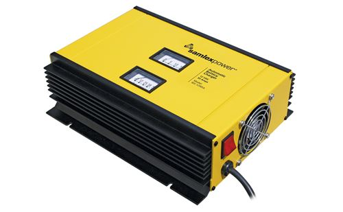 Samlex SEC-1250UL> Automatic Switch Mode Battery Charger 50Amps 12VDC