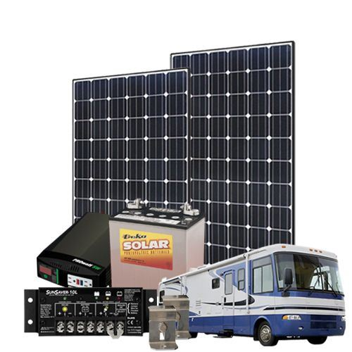 Solarflexion 140 Watt 12V RV Solar Kit