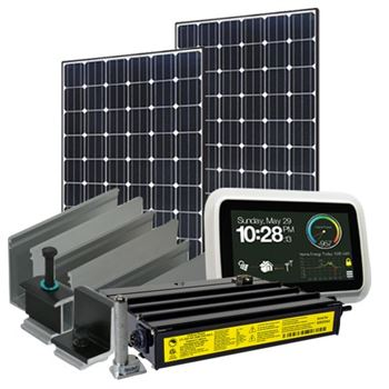 2280 Watt (2kW) Solar Microinverter Kit (Mono Panels)
