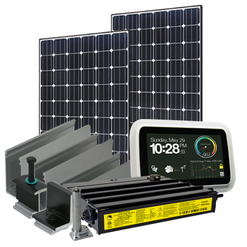 9690 Watt (9.6kW) Solar Microinverter Kit (Mono Panels)