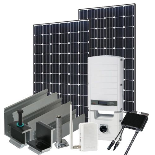 9120 Watt (9kW) SolarEdge Optimizer Kit (Mono Panels)