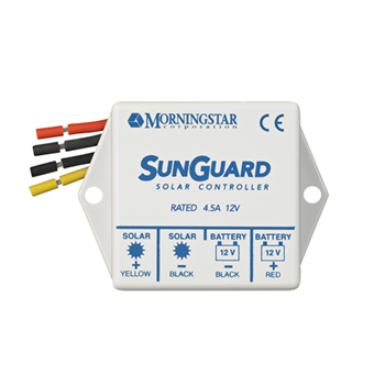 Morningstar SunGuard SG-4 4 Amp 12VDC PWM Charge Controller