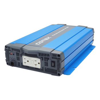 COTEK SP1500-124 1500Watt 24VDC 115VAC UL Approved Pure Sine Wave Inverter