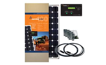 Samlex SRV-100-30A> 100 Watt Solar Charging Kit