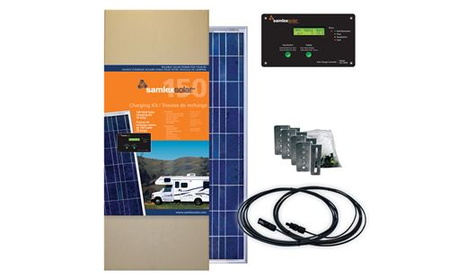 Samlex SRV-150-30A> 150 Watt Solar Charging Kit